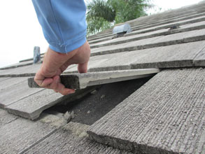 Roof Tiles May Become Missiles During A Hurricane You Or Your Neighbors Don T Want Loose Tile